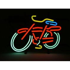 Fat Tire Bicycle Bike Logo Beer Bar Real Glass Tube Neon Light Sign 14x10 inches Handcrafted