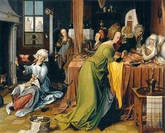 Jan de Beer - Geboorte van de Maagd (1520)