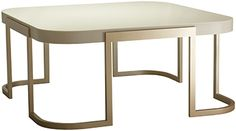 Valencia Square Coffee Table, Coffee Tables, Furniture, Decorus Furniture