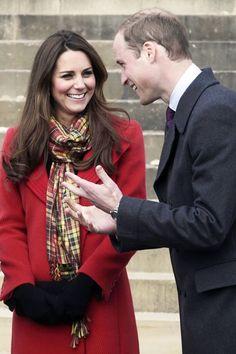 The Duke and Duchess visit Scotland