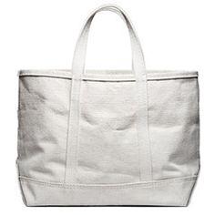 Canvas Carryall Bag (Natural)