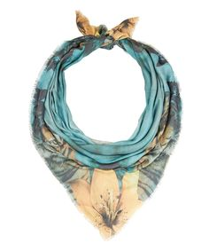 ATHENA PROCOPIOU MULTICOLOUR THE LIFE OF PI PRINT SCARF  £195.00