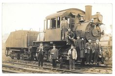 BOYERTOWN, PA. POSTCARD RPPC   TRAIN GANG, COLEBROOKDALE RR 1869   SASSMANVILLE