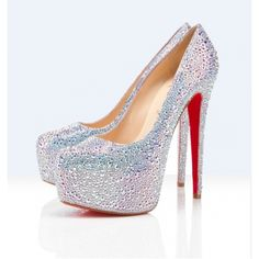 Christian Louboutin utin Miss Daffodil Strass Aurora Borealis P [1044] - $118.00 : Designershoes-shopping, World collection of Top Designer high heel UP TO 90% OFF!