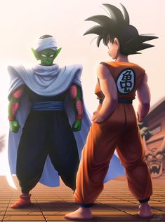Goku vs. Piccolo , Dustin Kraus