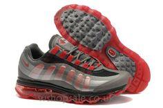 Buy Nike Air Max 95 BB Men's Black/Dark Grey-Metallic Silver-Sport Red UK