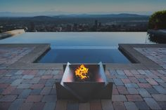 Gathering together around a roaring fire is a tradition as old as time, but unfortunately most firepit designs are still stuck in the Stone Age. Here with a handsome dose of modern ingenuity is Stahl, whose creations are as easy on the eyes as they are on assembly and portability.