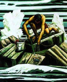 Paintings of David Bates