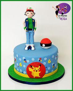 Le Monde de Kita: Sacha et Pikachu  Pour leur 5e anniversaire, Franc...