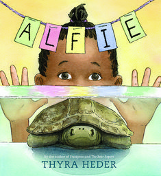 Alfie: (The Turtle That Disappeared) by Thyra Heder Date: 2017 Publisher: Abrams Books for Young Readers Reading level: C Book type:. African American Babies, American Children, American Baby, Birthday Presents For Him, Pet Turtle, Children's Picture Books, Book Gifts, Read Aloud, New Pictures