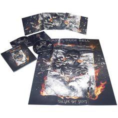"""Esclusiva EMP! L'album di #AlexRudiPell intitolato """"Game of sins"""" in formato digipak (bonus track e poster inclusi) con mazzo di carte incluso. Edizione limitata a sole 300 copie."""