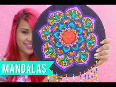 DIY: COMO FAZER MANDALAS COM DISCO DE VINIL ➸ ROOM DECOR - YouTube