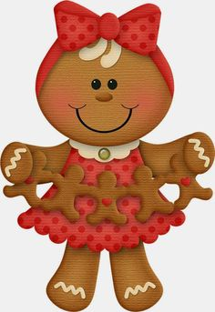 Gingerbread with cutout gingerbread cookies clipart clip art Gingerbread Crafts, Gingerbread Decorations, Christmas Gingerbread, Christmas Candy, Christmas Art, Christmas Decorations, Xmas, Christmas Ornaments, Gingerbread Cookies
