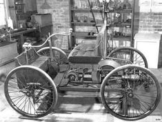 1896, FIRST FORD TO ROLL OUT OF DETROIT, MI...THE START OF THE MOTOR CITY.......:)