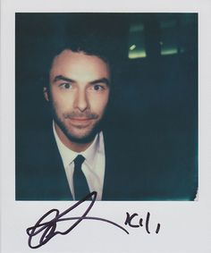 Aidan Turner, via Flickr. --- he even put Kili on there! :D <<<<<< His face! Although I'm not really surprised. He's Kili'n me with his face expressions. I can't contain these Fili'ns