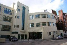 Daimler Garage Art Deco building