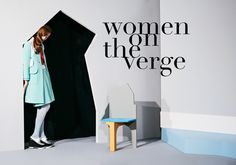 """Art&Motion — JUCO's """"Women on the Verge"""" for Paper Mag Drama..."""