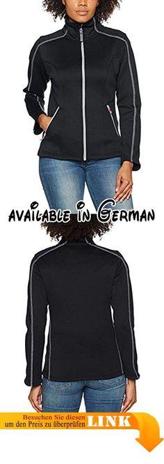 James Harvest Damen Jacke Carabelle Full Zip Fleece Jacket, Schwarz, 36.  #Apparel #OUTERWEAR