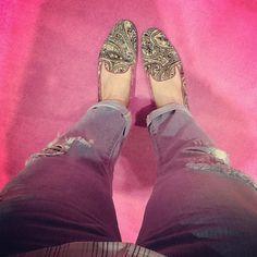 Pretty Loafer com estampa de cashemere. 3 últimos pares! Vem garantir o seu! contato@ prettyballerinasbrasil.com #prettyballerinas #prettyballerinasbrasil #prettyloafers