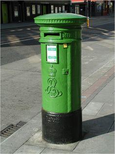 Edwardian Postbox in Dublin