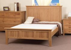 big-wooden-bed-frames-design