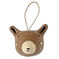 Merry Meadow Bear Ornament