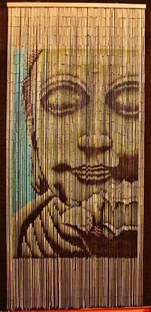 Bamboo Beaded Curtain Buddha Doorway Room Divider 90 Sreands NT/BB-01 -