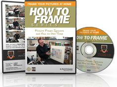 How to Frame Pictures Series - Picture Frame Spacers And How To Use Them DVD training course.