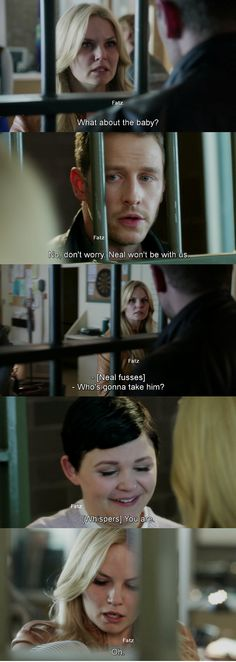 """""""No don't worry. Neal won't be with us."""" David, """"Who's gonna take him?"""" Emma, """"You're"""" Mary margaret - 4* 9 """"The Fall."""" #ShatteredSight #OnceisFrozen"""