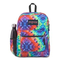 Cross Town is a perfect bag for primary school, but it is also used by many secondary and 3rd level students. It is also used as a day pack and for travelling. The side bottle holder will make all the difference. Luggage Backpack, Jansport Backpack, Handbags For School, School Bags, Day Backpacks, School Backpacks, Le Cross, High Quality Backpacks, Backpack Reviews