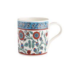 Iznik blue mug (British Museum exclusive) at British Museum shop online