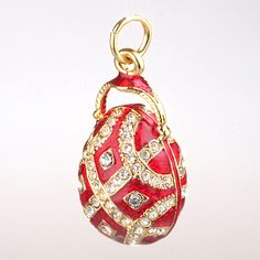 Faberge Egg Pendant by The Russian Store, via Flickr