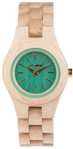 Women's wooden watch - on sale now at BillyTheTree.com
