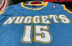 Vintage Vtg 03 Denver Nuggets Carmelo Anthony Nba Jersey Champion | Grailed Vintage Basketball Jerseys, Denver Nuggets, Vintage Tops, Nba, Champion, Shopping