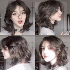 Cut My Hair, New Hair, Hair Cuts, Shot Hair Styles, Curly Hair Styles, Hair Inspo, Hair Inspiration, Mullet Hairstyle, Fluffy Hair