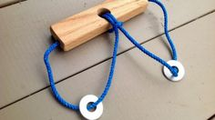 Build A Wooden Rope Puzzle