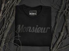 MONSIEUR sweatshirt get it here: http://backstg.com/produkt/monsieur-crewneck-black/