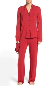 PJ Salvage Pajamas & Sleep Mask available at #Nordstrom
