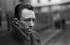 Albert Camus, Paris, 1944. (via photos by Henri Cartier-Bresson)
