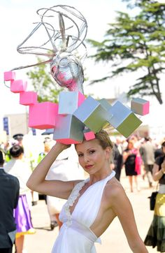 Anneka Svenska attends Royal Ascot Ladies Day on June 17, 2010 in Ascot, England.