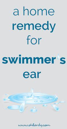swimmer's ear remedy - ohlardy.com