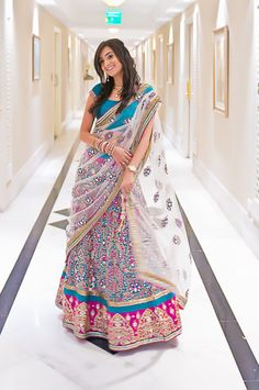 Karan & Priyanka Engagement : Indian wedding photography   Flickr - Photo Sharing! Indian Bollywood Actress, Indian Wedding Photography, Sari, Actresses, Engagement, Cook, Outfits, Recipes, Fashion