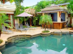 Tamarindo Vacation Rental - VRBO 433956 - 6 BR Guanacaste Villa in Costa Rica, Villa Cascada - Luxury Oceanfront Villa Ideal for Family and ...