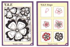 Y.A.F. (Yet Another Flower)~Zentangle
