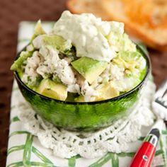 Avocado Chicken Salad    http://www.ziplist.com/recipes/435046-Avocado_Chicken_Salad?utm_source=Silverpop_medium=email_campaign=Healthy%20Recipes%20Leads%203-27%20(1)=5308956=MzgzNDg1NzA3MTcS1=315253285=MzE1MjUzMjg1S0