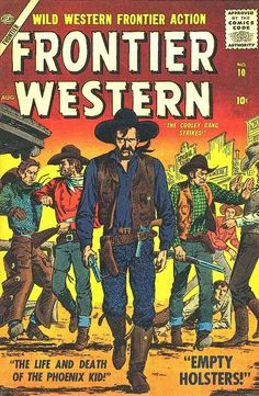 1950s western comics with cover art by John Severin.