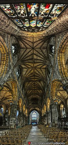 St.Giles Cathedral .Edinburgh.Scotland