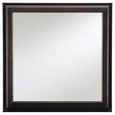 Young America Square Shadow Box Mirror