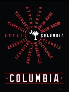 Columbia South Carolina (SEC Conference)