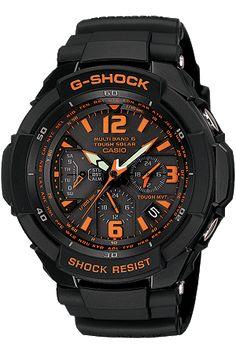 Shock resistant Halloween colored G-Shock.